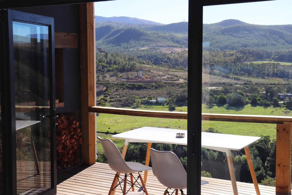 Copia Luxury Eco Cabins- Views on views on views